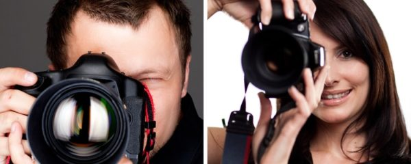 professionnel de photographie