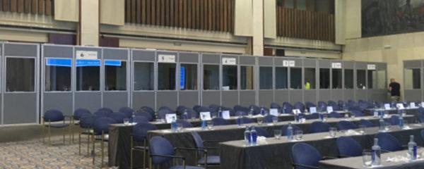 matériel d'interprétariat de conférence