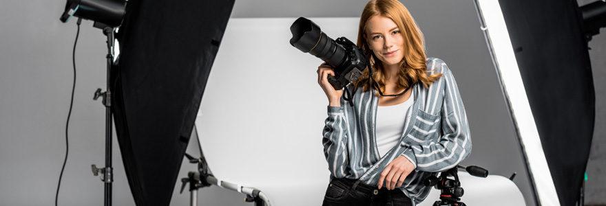 Studio photo portrait